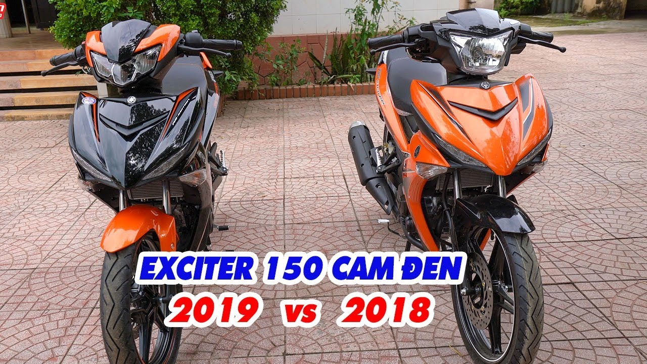 exciter-150-2019-cam-den-vs-exciter-150-2018-cam-den-soi-can-canh