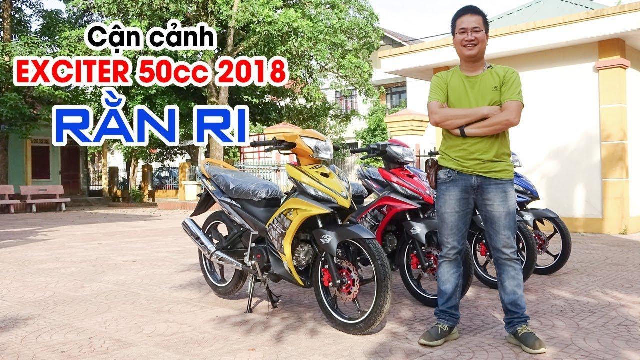Đánh giá Exciter 50cc 2018 ▶ Dân chơi Rằn ri đích thực!