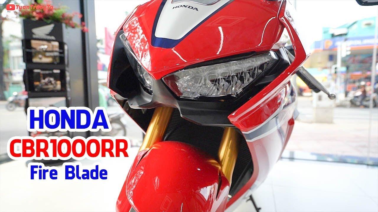 Đánh giá Honda CBR1000RR FireBlade SP 2018 chính hãng với giá 678 triệu VNĐ