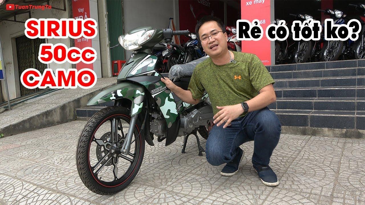 Đánh giá Sirius 50cc Camo ▶ Tiền nào của nấy!