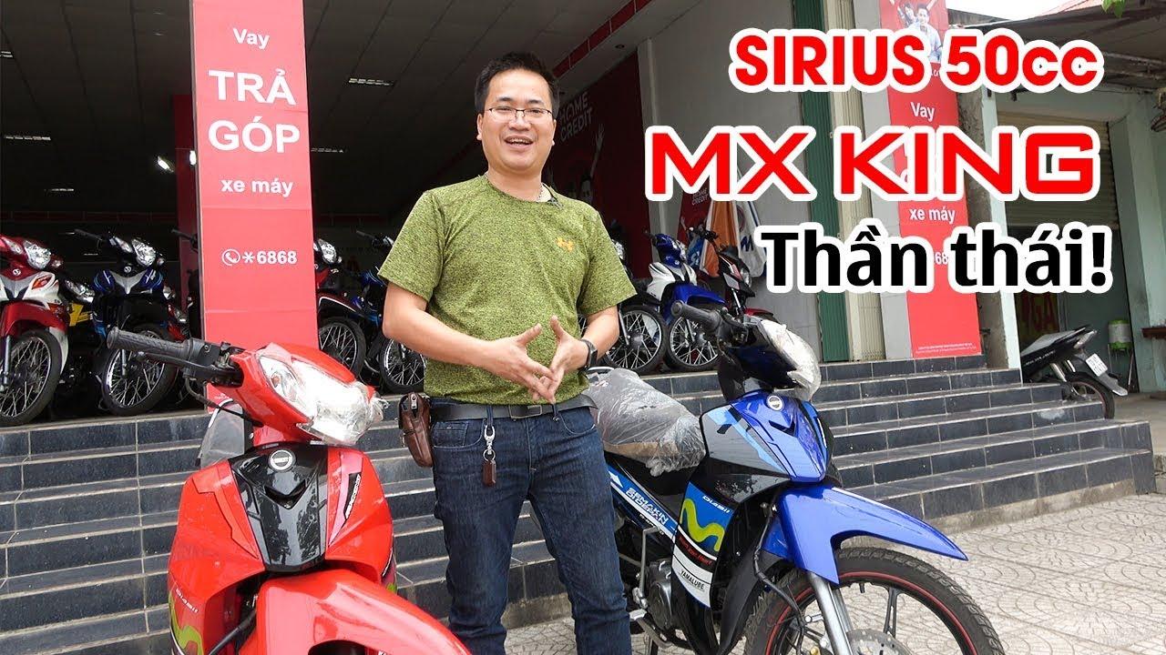 Đánh giá Sirius 50cc MX King phong cách ▶ Quan trọng là Thần thái!