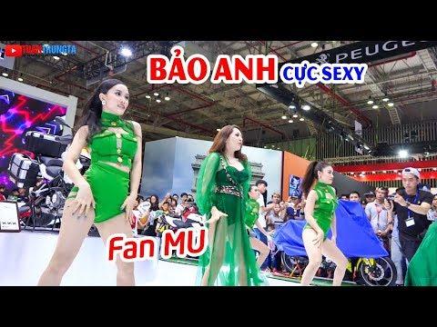 Bảo Anh cực sexy tại buổi ra mắt Benelli RFS 150i ▶ Nơi Fan MU hội ngộ!