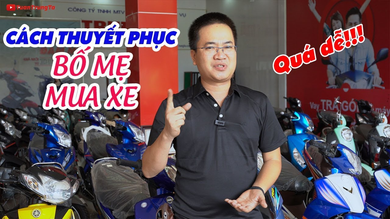 Cách thuyết phục Bố Mẹ mua xe máy 50cc ▶ Bạn là Rich Kid VN?