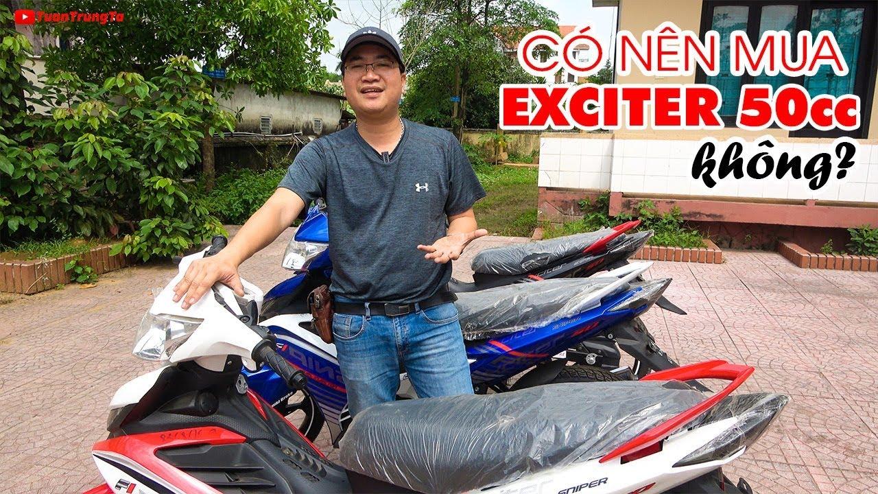 Có nên mua xe Exciter 50cc không?