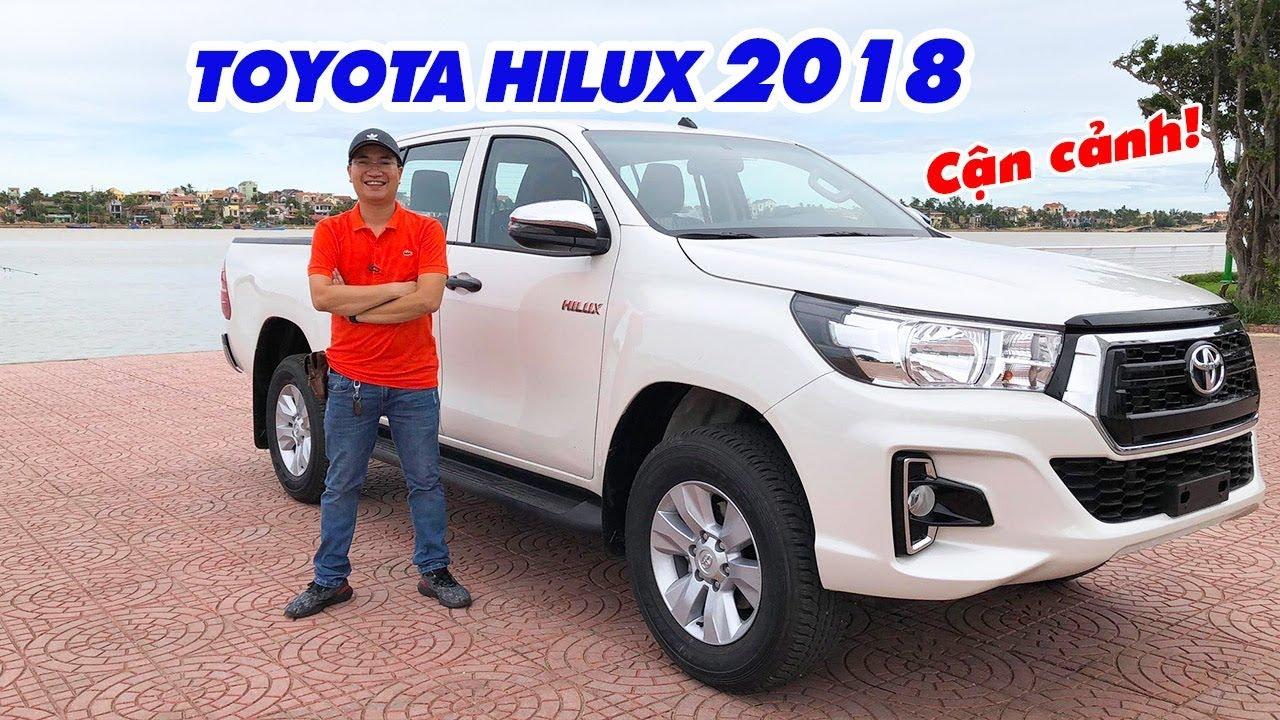 Cận cảnh Toyota Hilux 2018 ▶ Vì sao người Việt thích xe bán tải?