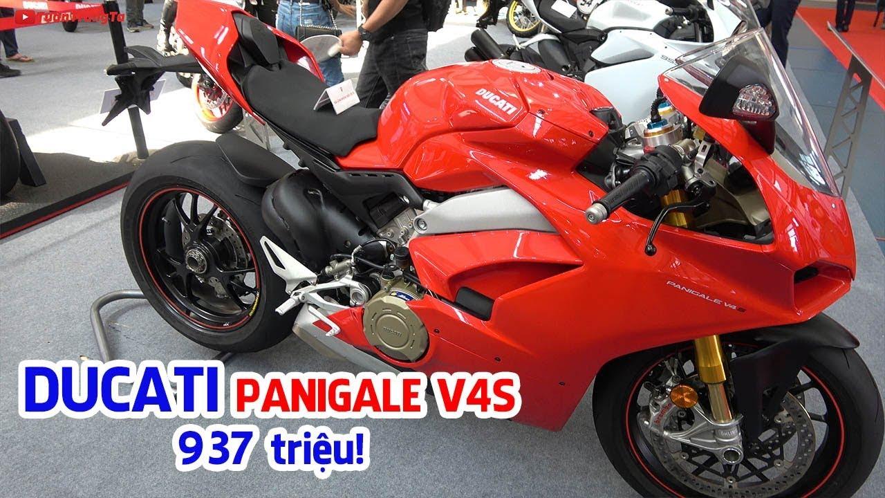 Chi tiết Ducati Panigale V4S ▶ Siêu phẩm moto với công nghệ của xe đua MotoGP