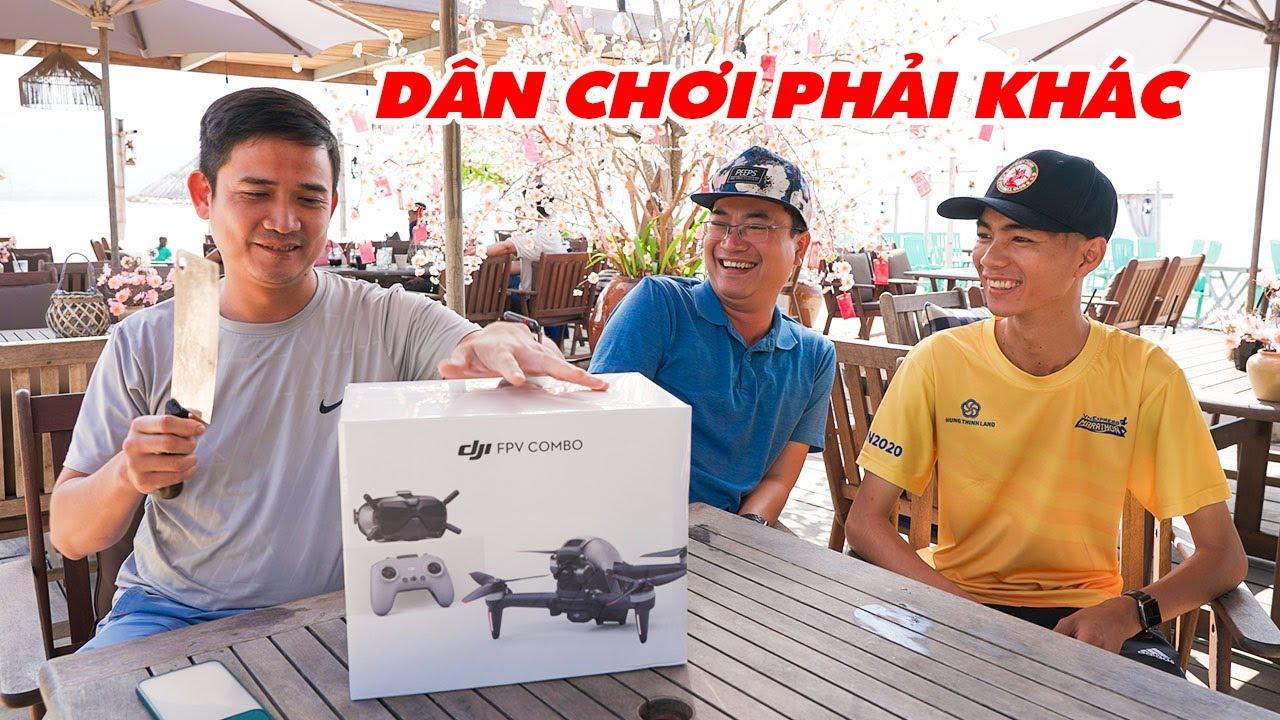 """DJI FPV COMBO Review   Dân chơi Flycam nói gì về """"Quái Thú 1 Mắt"""" với tốc độ bàn thờ này?"""