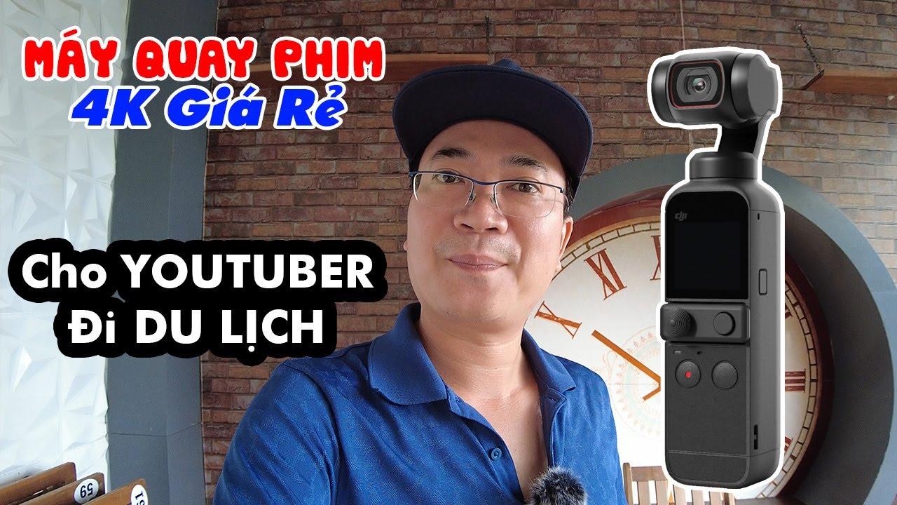 DJI POCKET 2   Máy Quay Phim 4K giá rẻ chuyên quay đêm dành cho Youtuber Đời Sống và Du lịch