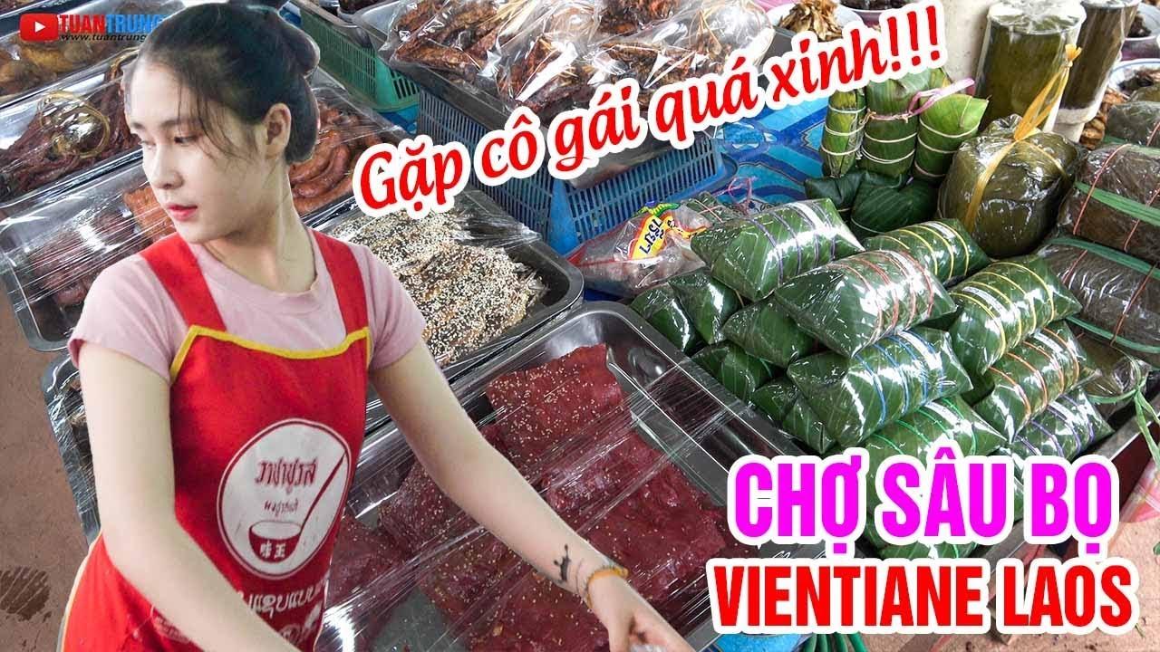 Du lịch Lào ▶ Trải nghiệm Chợ côn trùng tại CHỢ SÂU BỌ Đan Xang