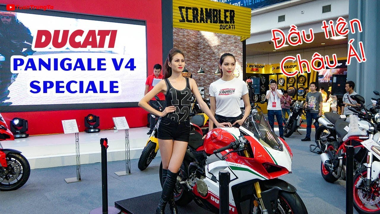 Ducati Panigale V4 Speciale ▶ Soi Siêu xe 2 Tỉ đầu tiên tại Châu Á