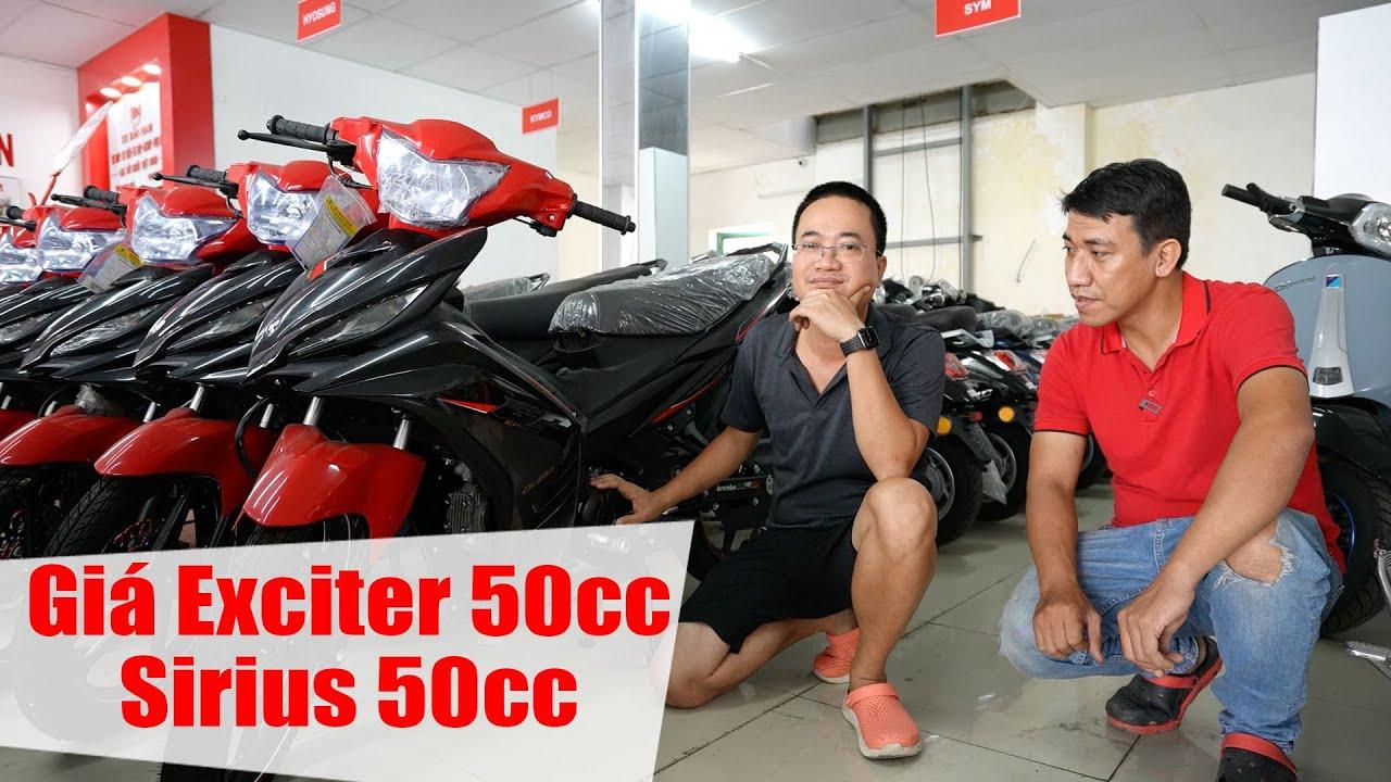 Giá xe Exciter 50cc, Sirius 50cc, Moto Mini và Địa chỉ mua xe tại Đà Nẵng