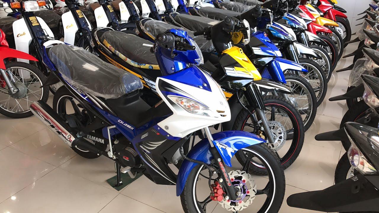 Giá xe máy 50cc Exciter, Sirius, Dream, Cub, Elegant, Angela tháng 7-2017