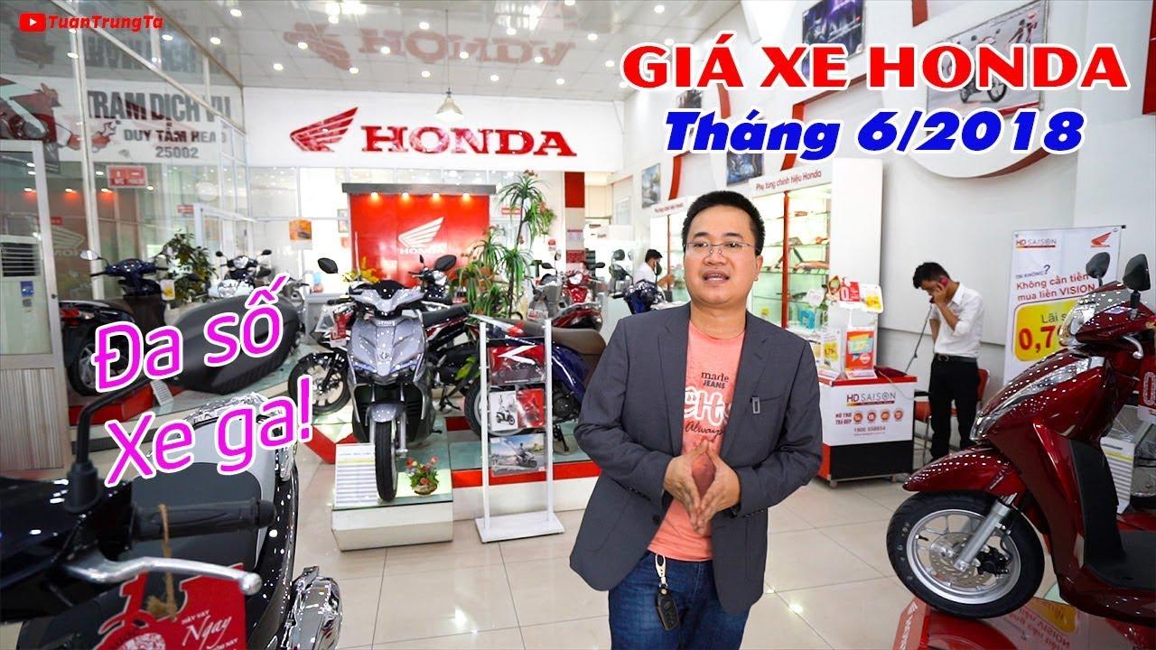 Giá xe máy Honda tháng 6/2018: Winner 150 phải đặt, đa số xe ga rất nhiều!