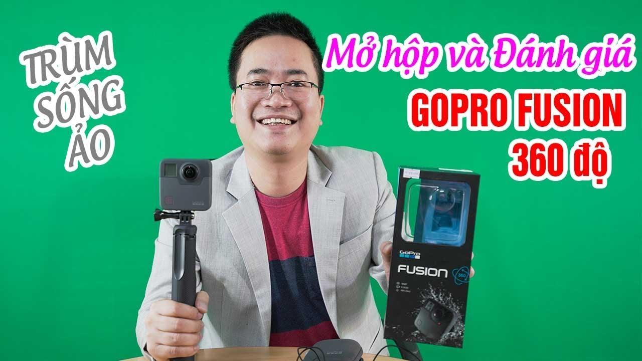 GoPro Fusion Camera 360 độ ▶ Unbox Đánh giá Trùm sống ảo!