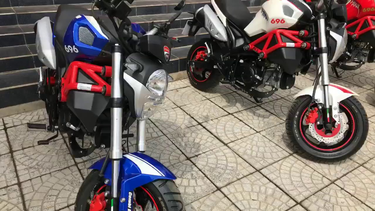 Hóng Ducati Monster Mini giá rẻ cho các dân chơi 😂😂😂