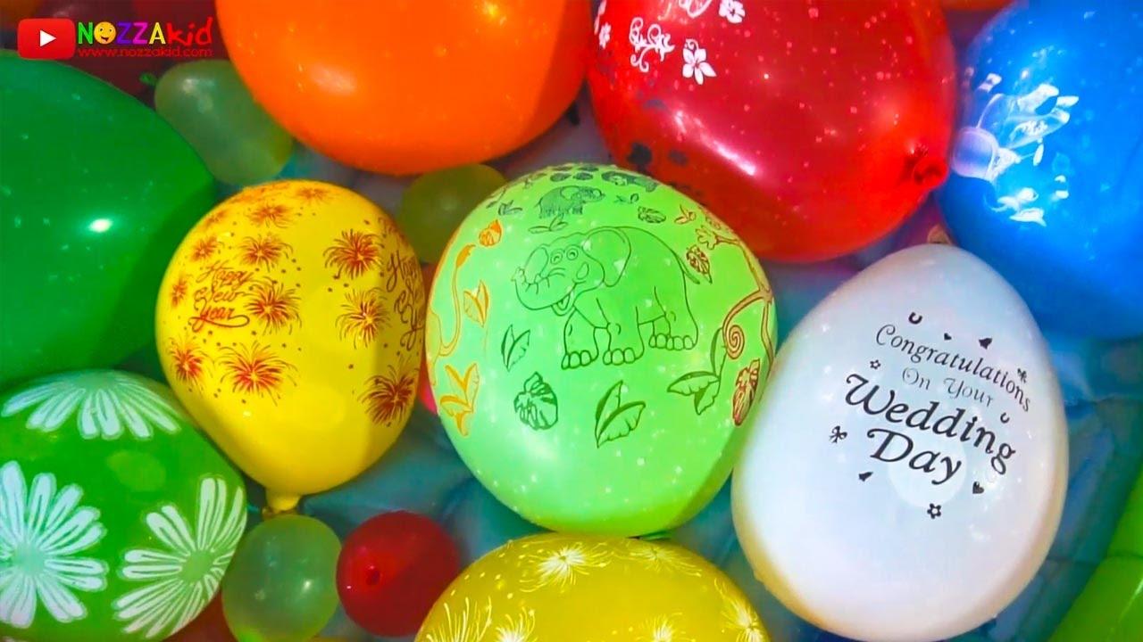Học Tiếng Anh qua màu sắc dành cho bé ▶ Children Learn Color with Water Balloons