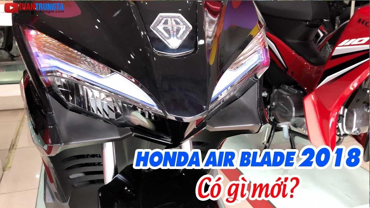 Honda Air Blade 2018 có gì khác với Honda Air Blade 2017?