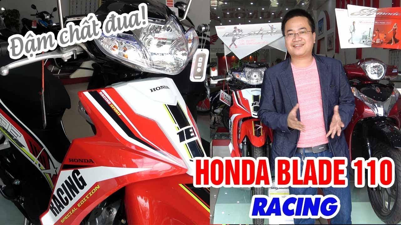 Honda Blade 110cc Racing 2018 Cận cảnh ▶ ĐẬM CHẤT ĐUA!
