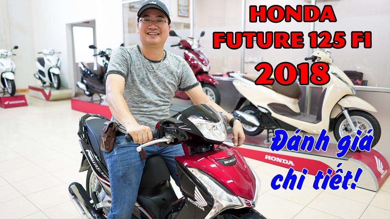 Honda Future 125cc Fi 2018 ▶ Đánh giá các thay đổi đáng giá!