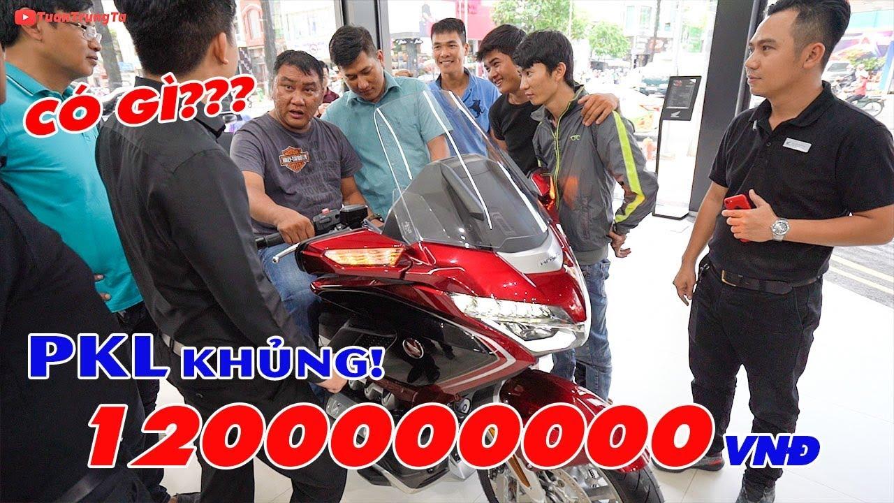 Honda Gold Wing 2018 ▶ Cận cảnh chiếc moto PKL 1,2 TỶ đầu tiên tại Việt Nam!