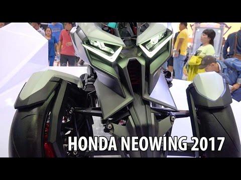 Honda Neowing 2017 Concept Bike ▶ Soi chi tiết Quái vật 3 đầu siêu khủng!