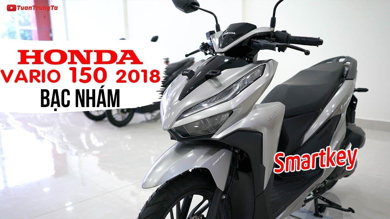 Honda Vario 150 Smartkey Bạc Nhám ▶ Tổng quan sản phẩm