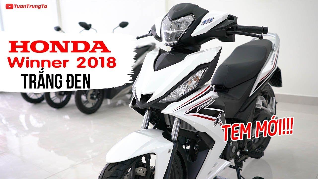 Honda Winner 150 2018 Trắng Đen tem mới ▶ Tổng quan sản phẩm