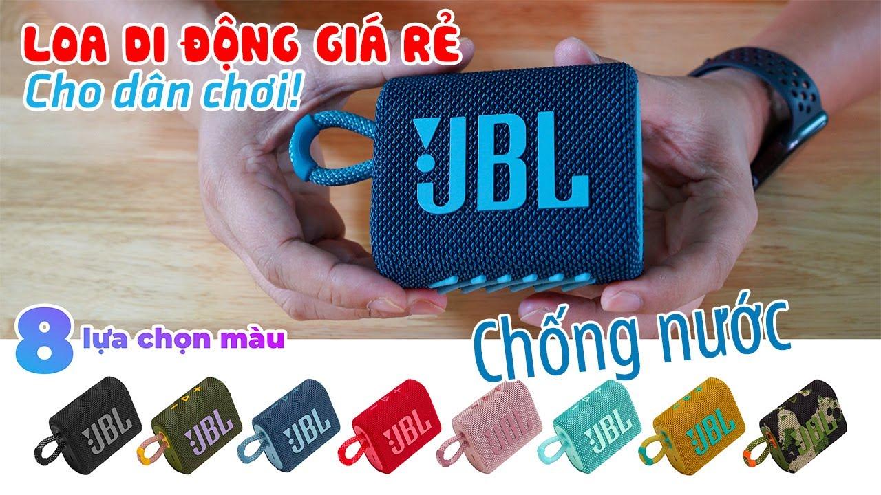 JBL GO 3 REVIEW | Loa Bluetooth di động giá rẻ dành cho dân Phượt dưới 900K nhưng Đẹp và Ngon!