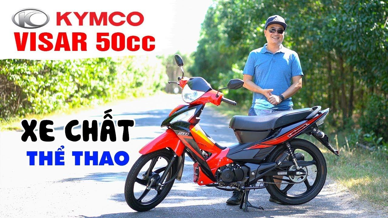 KYMCO VISAR 50cc ▶ Đánh giá chi tiết và Lý do chọn xe 50cc chất lượng cao