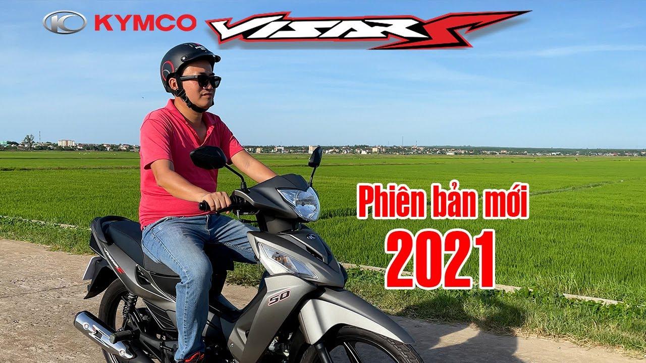 KYMCO VISARS 50CC 2021 Phiên Bản Mới   Trải nghiệm xe số chất lượng cao dành cho học sinh