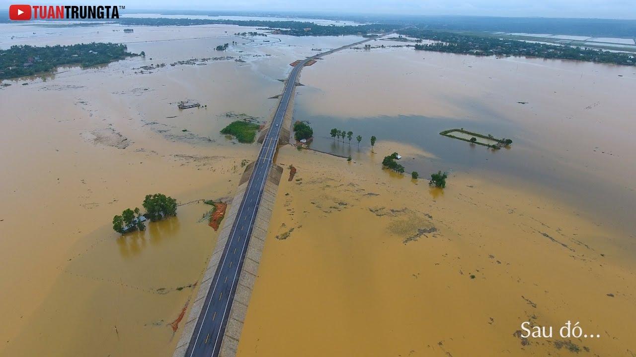 Lũ Lụt miền Trung - Vĩnh Linh ơi...Gạo mô mà ăn???