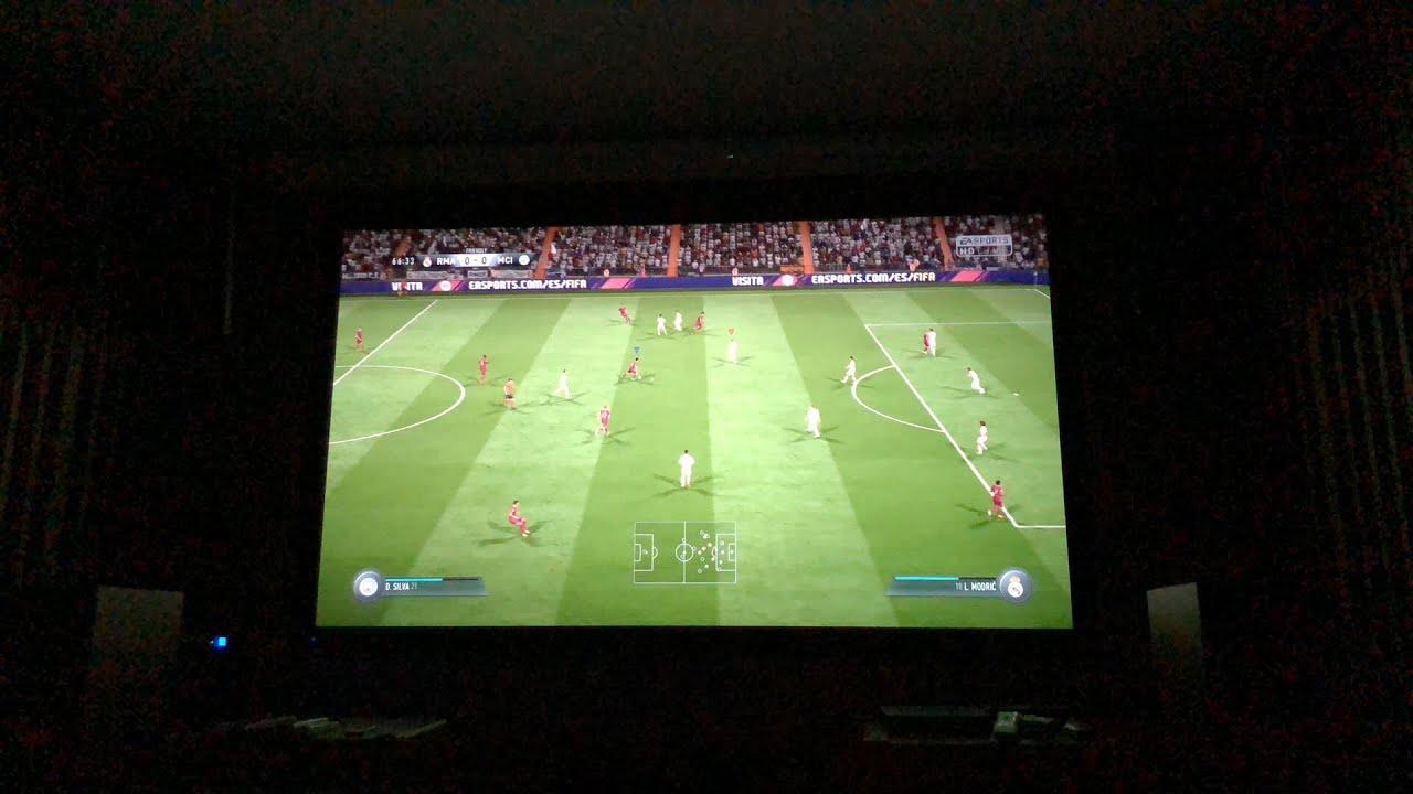 LIVE Đối đầu Fifa 2018 trên PS4 màn 120in tại Anh Đức Digital 😘