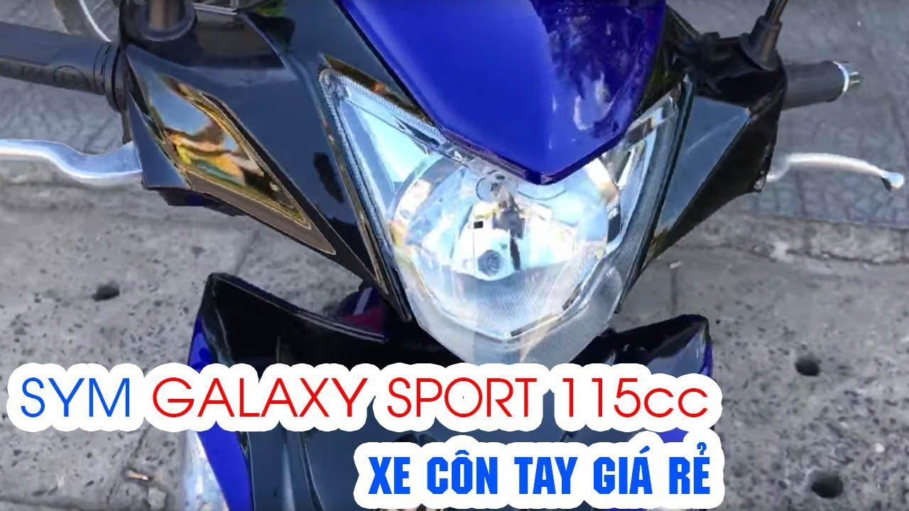 SYM Galaxy Sport 115cc ▶ Soi chi tiết xe côn tay giá rẻ!