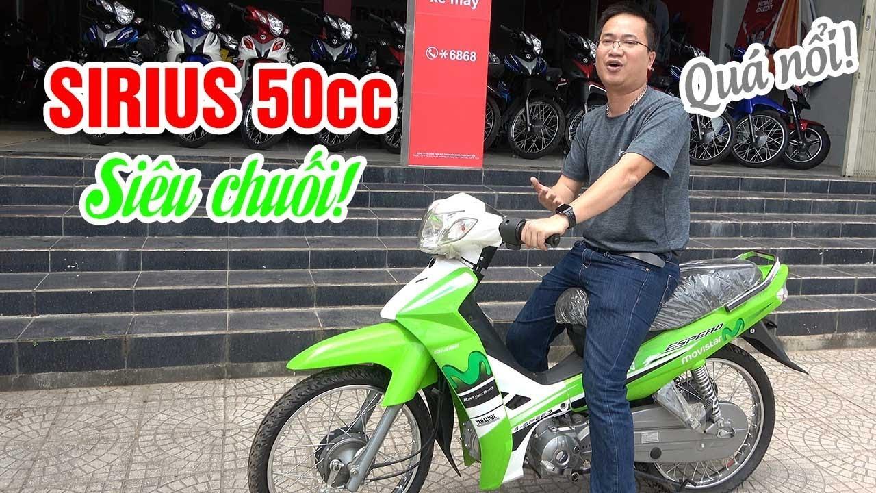 Sirius 50cc Movistar Siêu Chuối ▶ Bao Nổi giữa đám đông!
