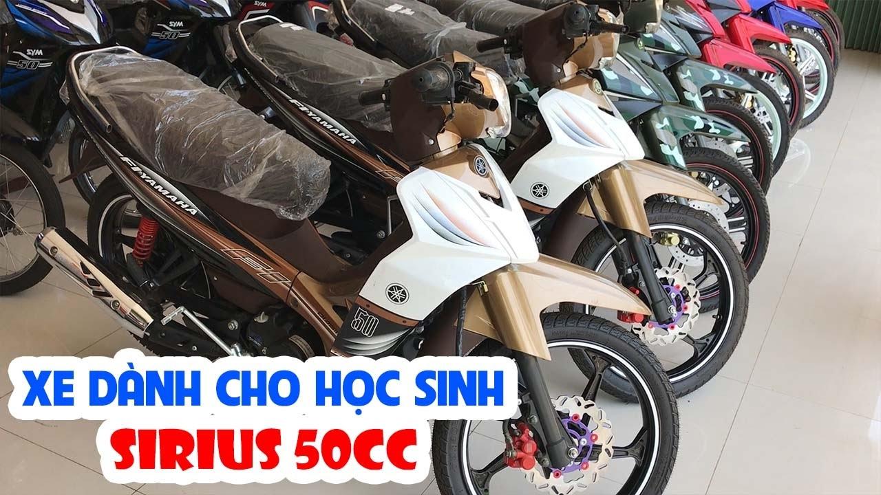 Sirius 50cc ▶ Tổng quan các màu sắc xe dành cho học sinh