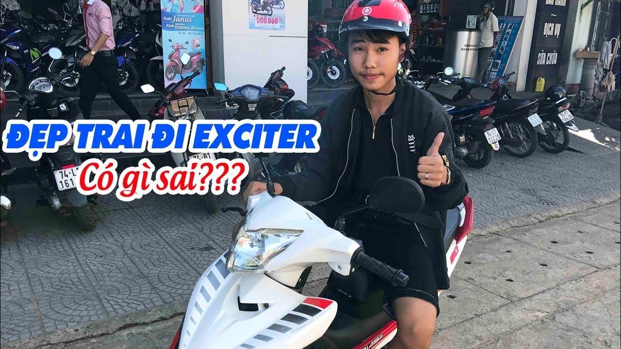 Thanh niên đi Exciter 50cc tuyên bố gây sốc! 😘