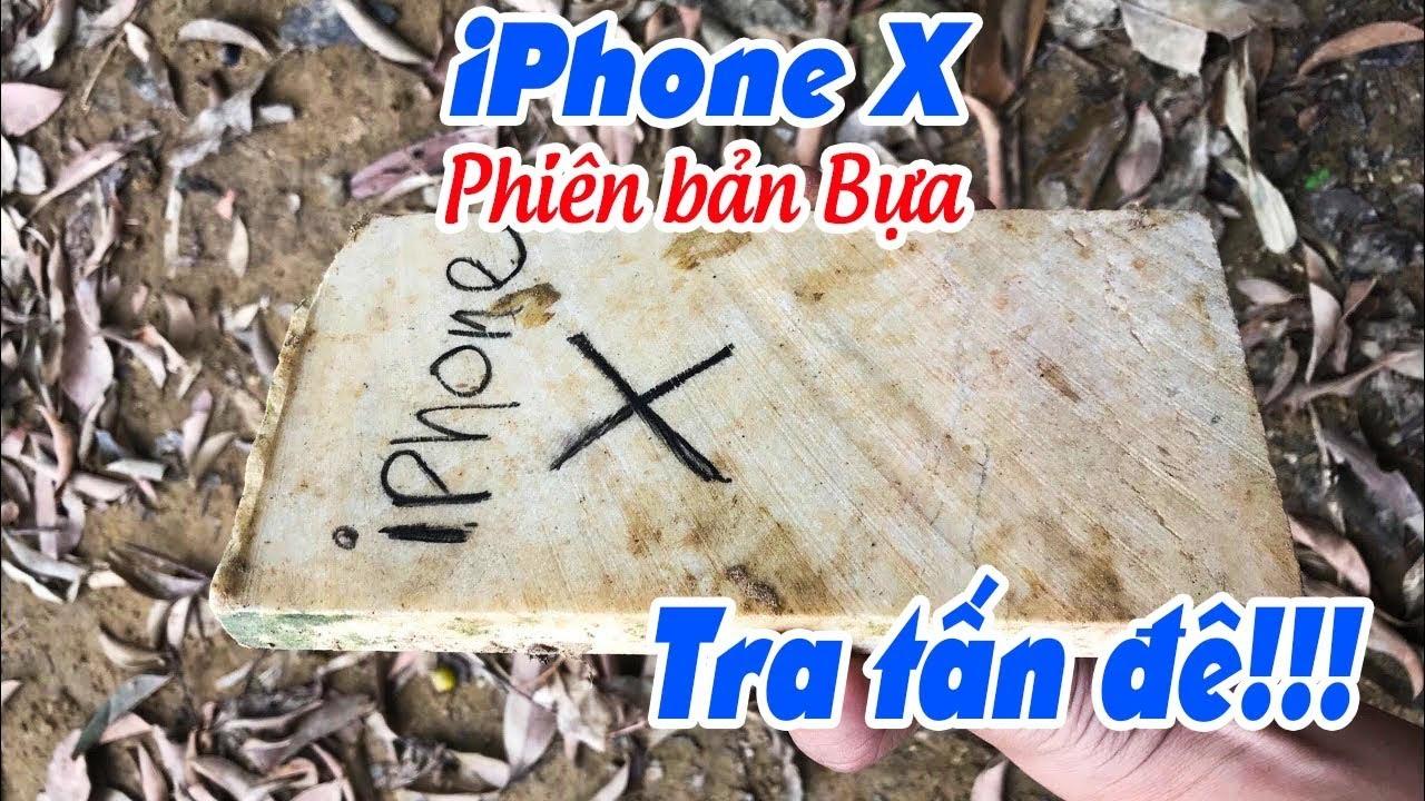 Tra tấn iPhone X phiên bản Bựa, bao đập, bao dìm nước 😂