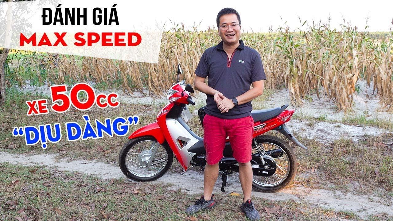 Wave 50cc hình dáng Honda Wave 110cc ▶ Đánh giá và Max Speed xe dành cho Học sinh