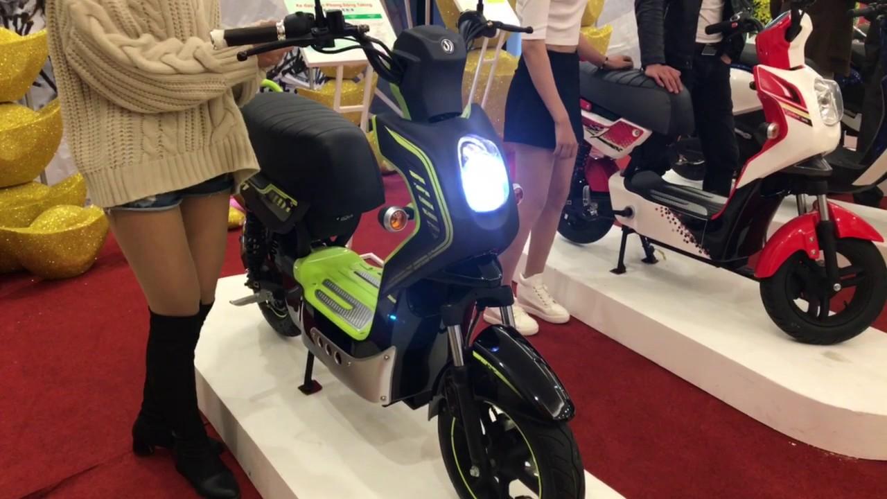 Xe đạp điện SYM S1 chính hãng cực dễ thương!