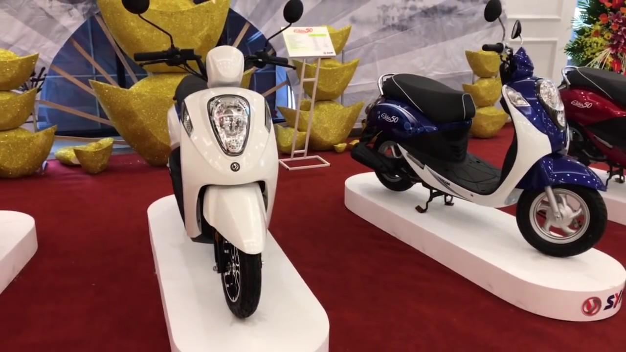 Xe tay ga SYM Elite 50cc - Đánh giá thực tế!