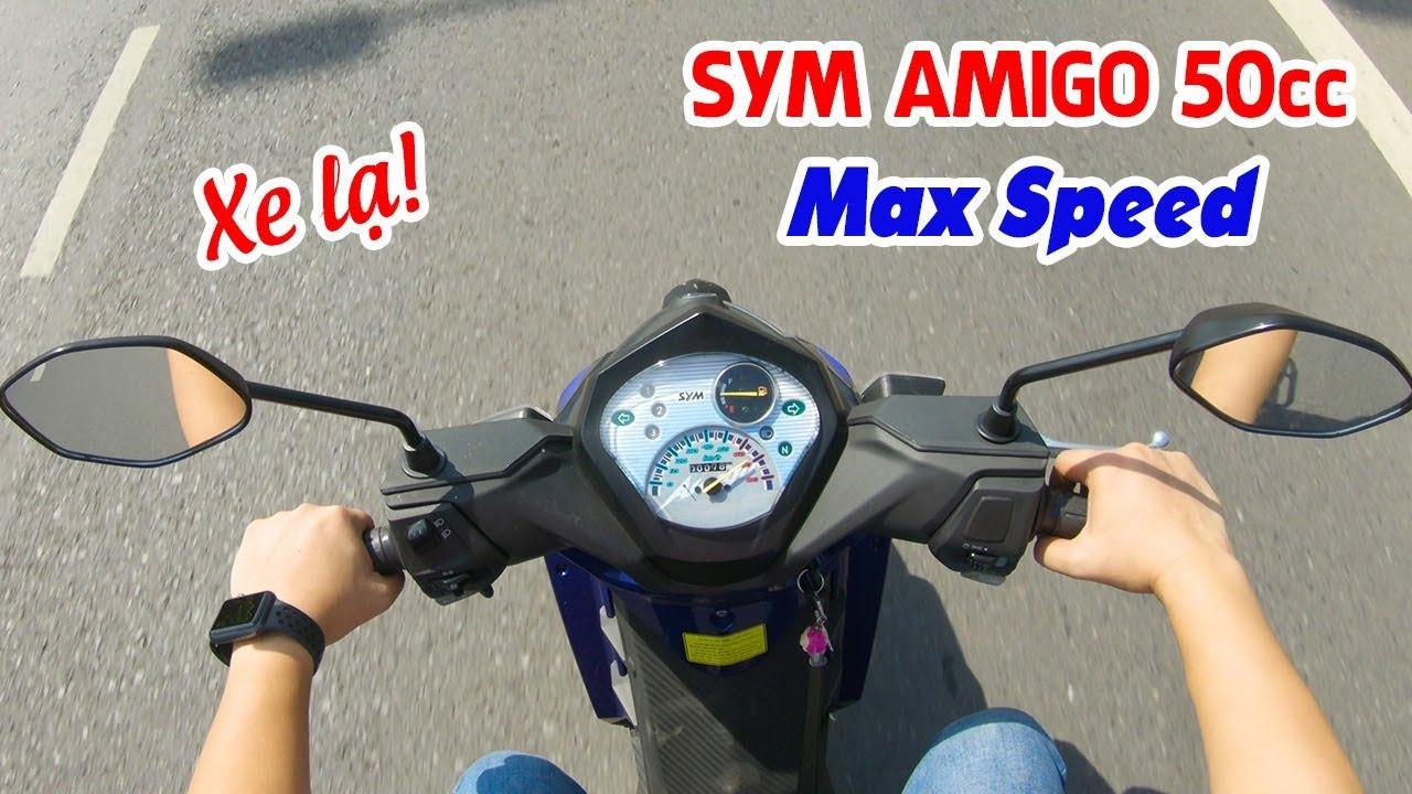 SYM Amigo 50cc Max Speed ▶ Dân chơi tốc độ thần thái!
